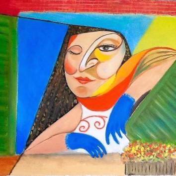 13-Donna alla finestra 60x80cm