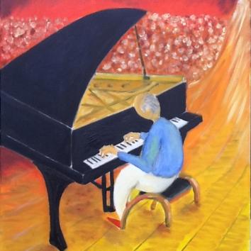 11-Pianista in concerto 60x80cm