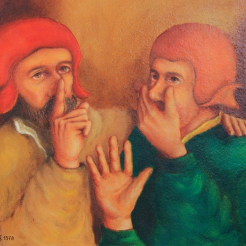 40 - Gli indifferenti/De onverschillig/Les taciturnes