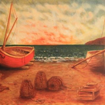 50 - Spiaggia dei poescatori/Vissersstrand/Plage de pecheurs