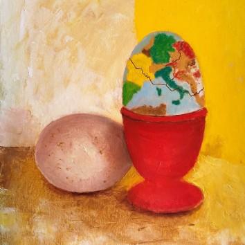 109- Europa o uovo sodo? 50x60 cm